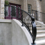 Ornate Stair Rail